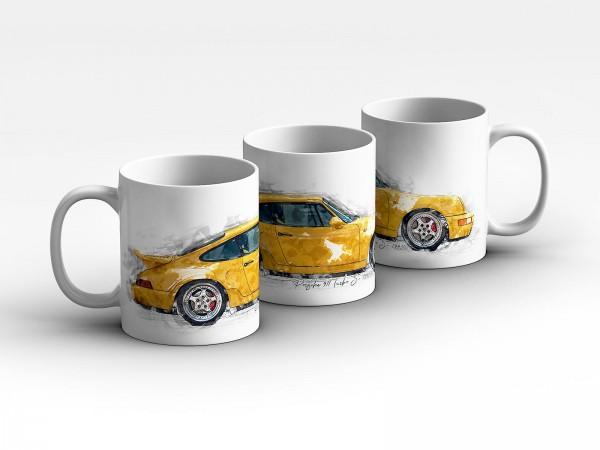 Tasse Motiv: Porsche 911 Turbo S- 1993 Kaffeebecher