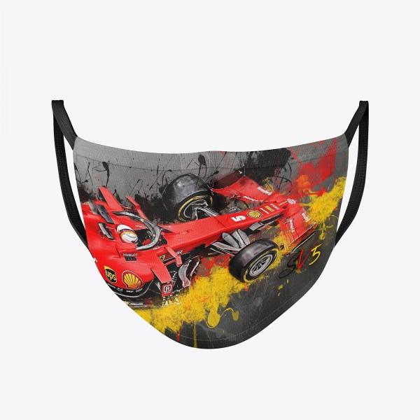 Community Maske | Sebastian Vettel - Number 5 | Behelfsmaske | waschbar | wiederverwendbar | Formel1