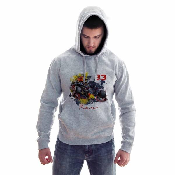 Hoodie Motiv: Formel 1 - Max Verstappen - Red Bull - Number 33