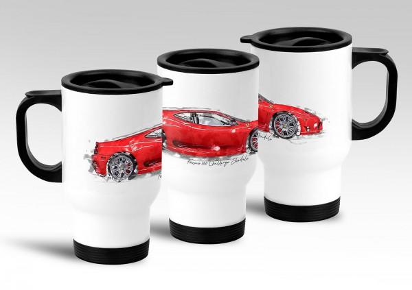 Thermobecher - Ferrari 360 Challange Stradale - 2004