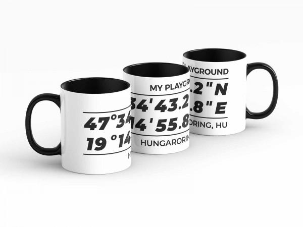 Tasse - My Playground - Hungaroring - Kaffeebecher