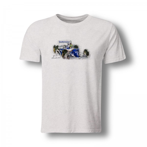 T-Shirt Formel1 - Ayrton Senna - Williams Renault - 1994