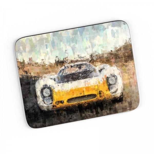 Artwork Mousepad Motiv: Porsche 908 Short-Tail Coupe 1968 - Front