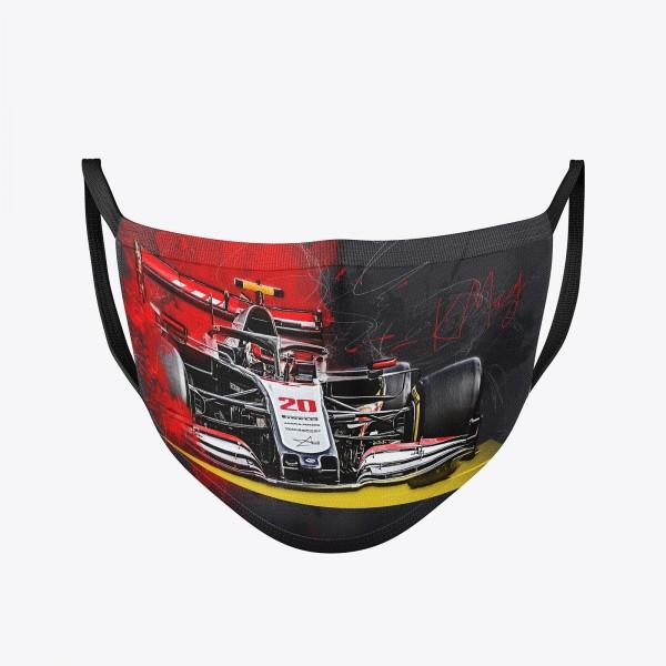 Community Maske | Kevin Magnussen | Behelfsmaske | waschbar | wiederverwendbar | Formel1 Mundschutz