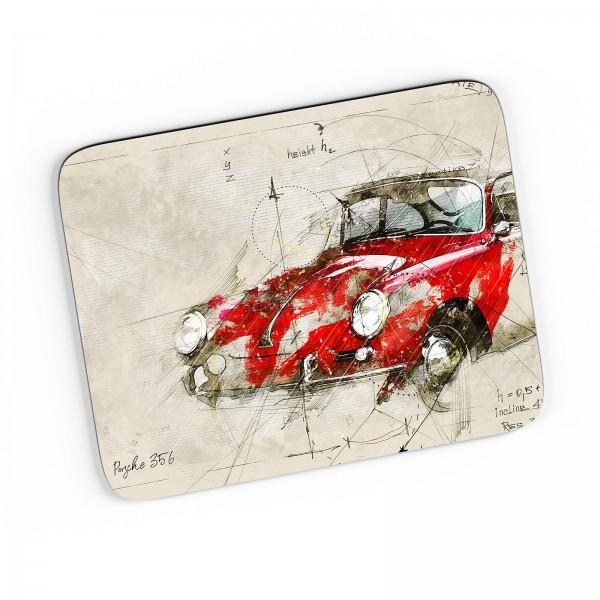 Artwork Mousepad Motiv: Porsche 356